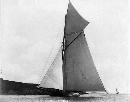 Yacht 'Mischief' - The Yacht Photography Collection of J. S. Johnston